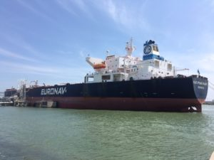 Vessel Cap Romuald at Port of Corpus Christi