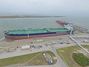 VLCC Anne at Oxy Ingleside Energy Center