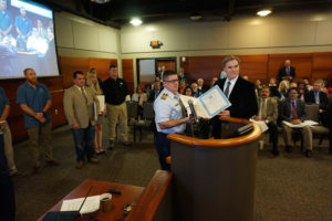 Aransas-Corpus Christi Pilot's Captain Lippold receives top USCG honors