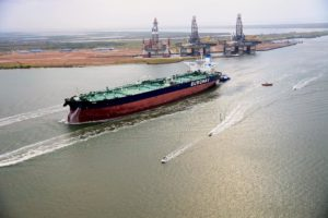 VLCC Anne arrives at Port Corpus Christi