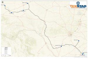 EPIC pipeline map - Permian to Corpus Christi