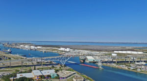 Aerial Image - Inner Harbor at Port Corpus Christi