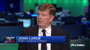 Port Executive Director, John LaRue, live on CNBC Power Lunch.