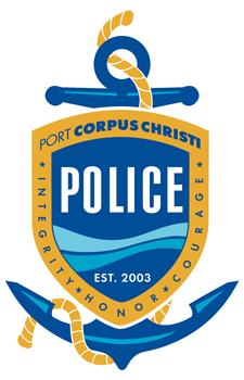 Port Corpus Christi Police Logo