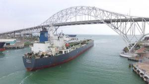 THEO T - crude export - Corpus Christi