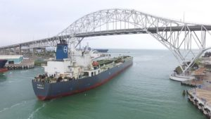 First US crude export THEO T